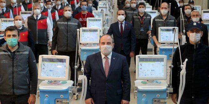 """Bakan Varank: """"Mayıs sonuna kadar beş bin solunum cihazı üretilmiş olacak"""""""