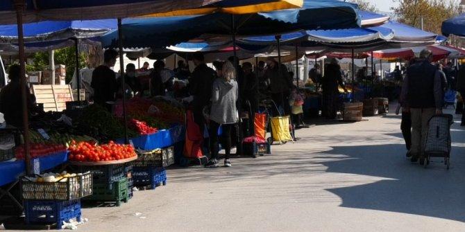 Isparta'nın en büyük pazarı kapatıldı