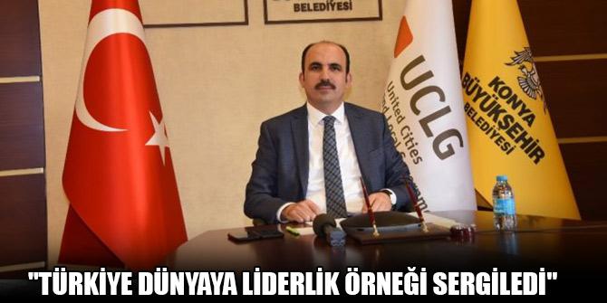 """Başkan Altay: """"Türkiye dünyaya liderlik örneği sergiledi"""""""