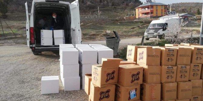Bozkır'da Ramazan ayı öncesi 650 aileye yardımlar ulaştırılıyor