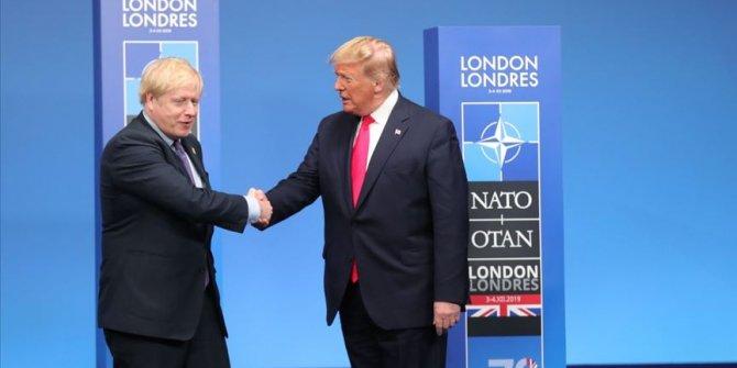 İngiltere Başbakanı Johnson, ABD Başkanı Trump'la görüştü
