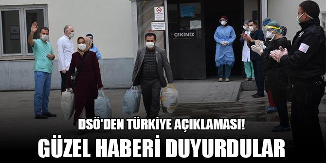 DSÖ'den Türkiye açıklaması! Güzel haberi duyurdular