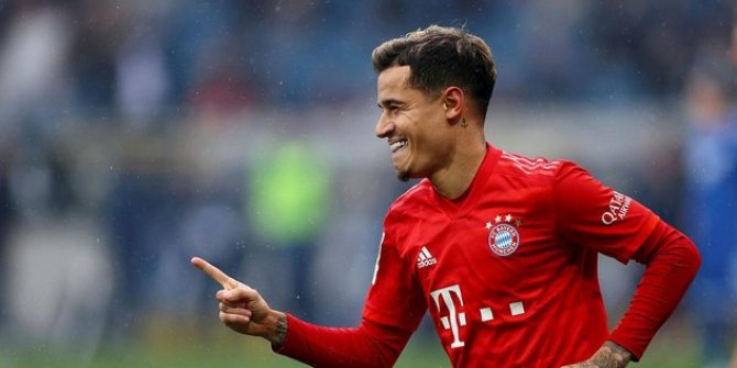 Bayern Münihli Coutinho ayak bileğinden ameliyat edildi