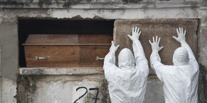Brezilya'da son 24 saatte Kovid-19 nedeniyle 357 kişi öldü