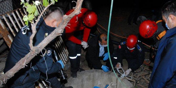 Kırıkkale'de kuyuya düşen köpeğini kurtarmak isteyen yaşlı adam öldü