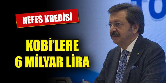 """Hisarcıklıoğlu, """"TOBB Nefes Kredisi'ni yeniden devreye alıyoruz"""""""