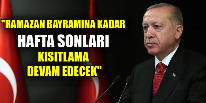 Cumhurbaşkanı Erdoğan: Bu zorlu süreçten alnımızın akıyla çıkmayı başardık