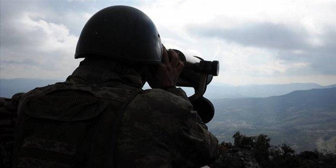 MSB: PKK/YPG'li 3 terörist etkisiz hale getirildi