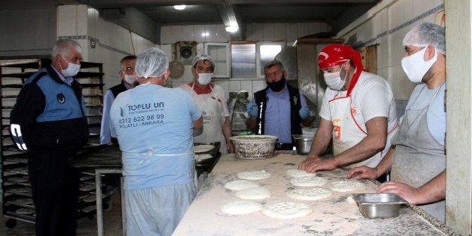 Beypazarı'nda ramazan denetimleri