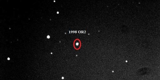 Dev gök taşının Dünya'nın yakınından geçişi görüntülendi