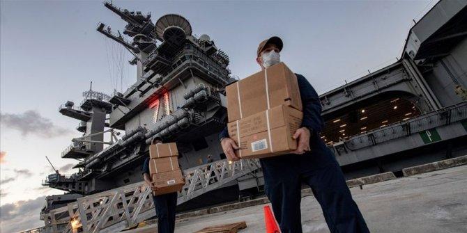ABD'nin Roosevelt uçak gemisinde Kovid-19 vaka sayısı artıyor