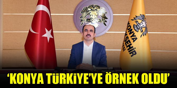 Başkan Altay: Konya koordineli çalışmada Türkiye'ye örnek oldu