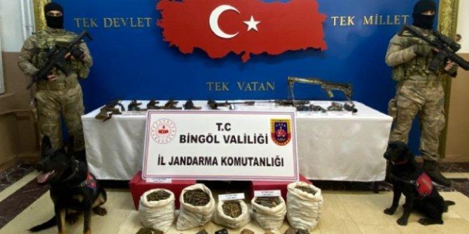 Bingöl'de bölücü terör örgütüne büyük darbe