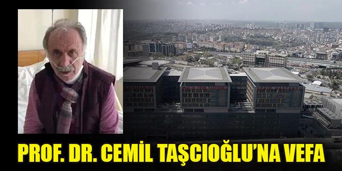 """""""Prof. Dr. Cemil Taşcıoğlu"""" yazılı tabela, Okmeydanı'ndaki şehir hastanesine asıldı"""