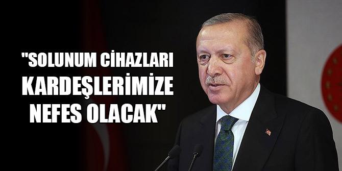 """Erdoğan: """"Solunum cihazları Somalili kardeşlerimize nefes olacak"""""""