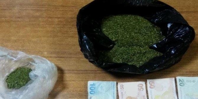 Polisten kaçan şüpheli uyuşturucuyla yakalandı