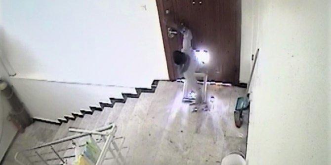 Filmleri aratmayacak hırsızlık
