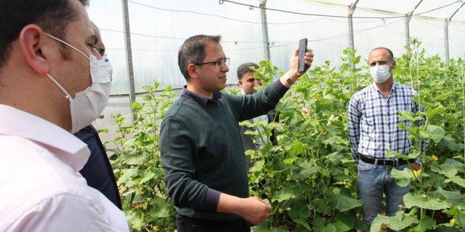 Şırnaklı çiftçi ilk mahsulün gelirini 'Biz Bize Yeteriz Türkiyem' kampanyasına bağışlayacak