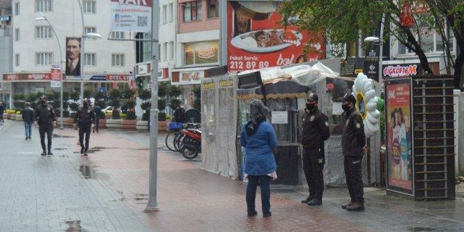 Bolu'da kentin en işlek caddeleri vatandaşın kullanımına açıldı