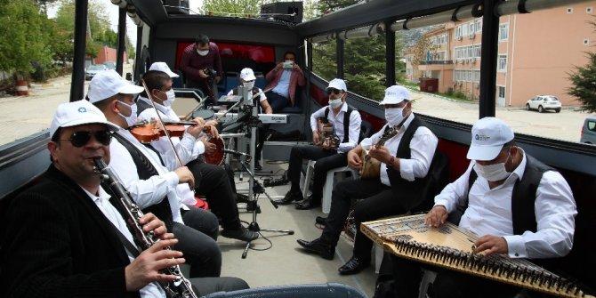 Büyükşehir'den ilçelere Mobil Ramazan Konseri