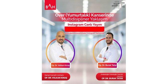 Samsun'da doktorlar vatandaşla canlı yayında buluşuyor
