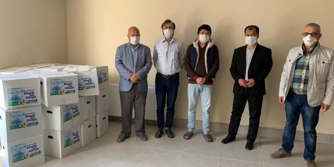 Başkan Akgün Uygur Türklerini unutmadı