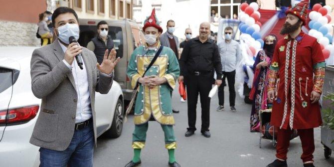 Kağıthane'de Ramazan eğlenceleri sokağa taşındı