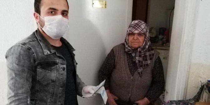 'Biz Bize Yeteriz Türkiyem' kampanyasına Behane teyzeden anlamlı destek