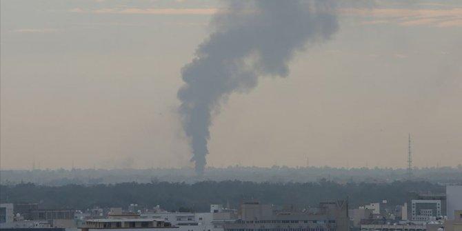 Haftere ikmal şoku! 7 yakıt tankerini vuruldu