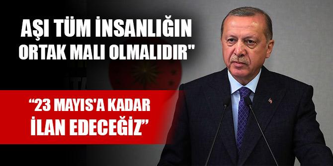 Cumhurbaşkanı Erdoğan tarih verdi: 23 Mayıs'a kadar ilan edeceğiz