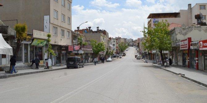 Tedbirler sonrası Besni'de sessizlik hakim oldu