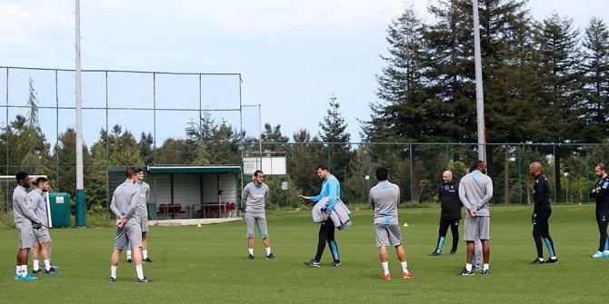 Trabzonspor antrenmanlara başladı