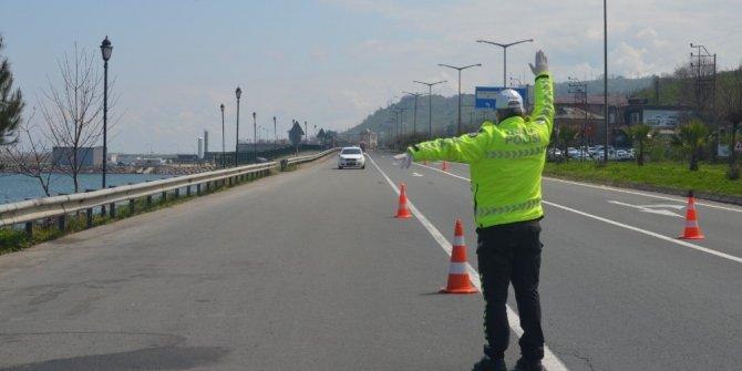 Ordu'da trafikte en fazla ceza hız sınırını aşmaktan dolayı yazılıyor