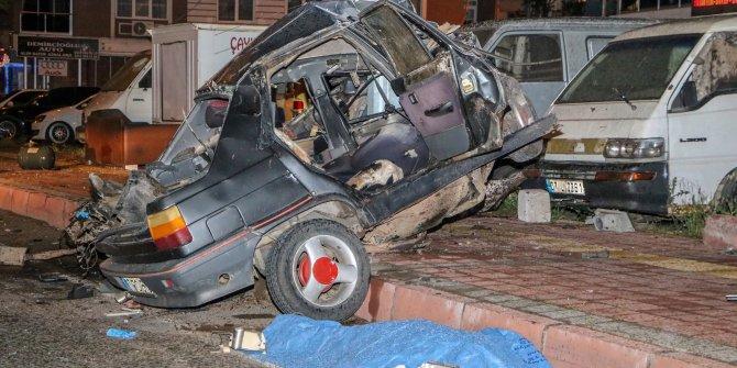 'Makas' atan otomobil faciası: 1 ölü