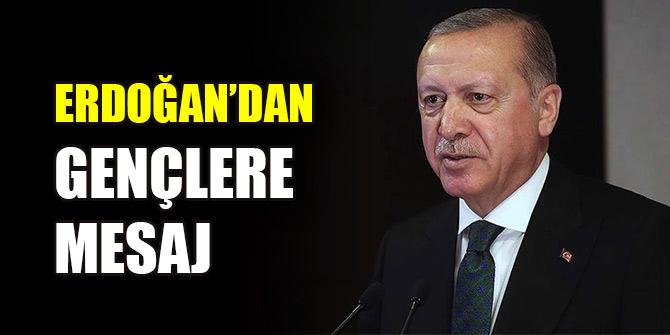 Cumhurbaşkanı Erdoğan, sosyal medyadan gençlere seslendi