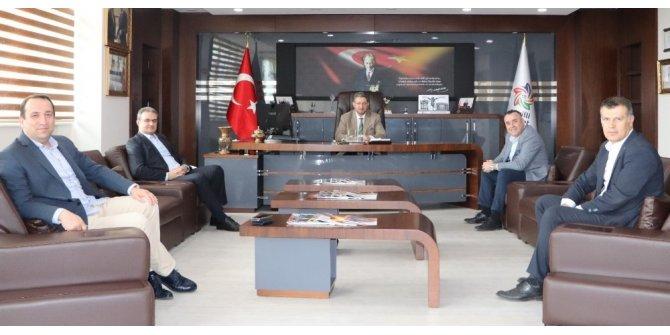 NTO Başkanı Arslan banka müdürleriyle 'nefes' kredisini görüştü