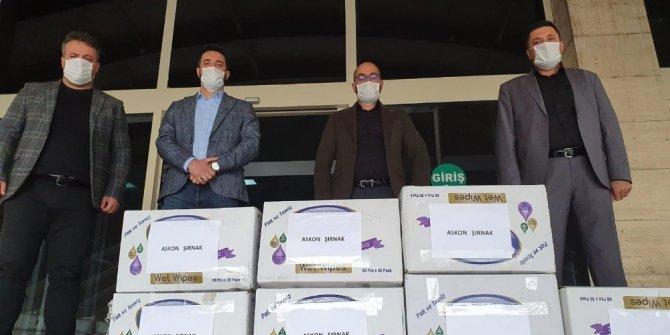 Şırnaklı iş adamları 10 bin maskeyi ücretsiz dağıttı