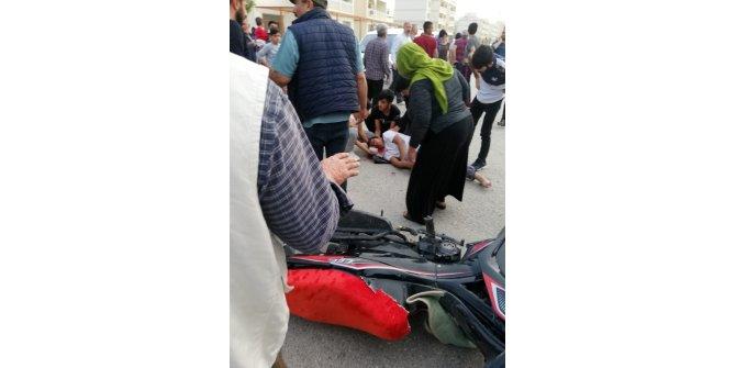 Nusaybin'de otomobil ile motosiklet çarpıştı: 1 ölü