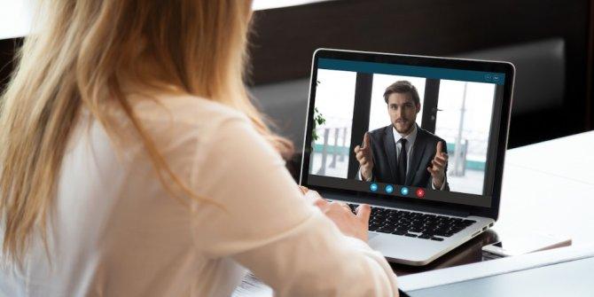 Salgın sürecinde online işe giriş görüşmeleri yüzde 300 arttı