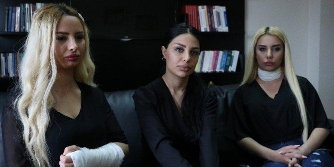 """Trafikte sopalı saldırıya uğrayan kadınlar konuştu: """"Kadına şiddetin durmasını istiyoruz"""""""