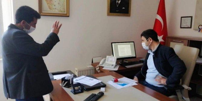 Siirt Tapu Müdürlüğünde ilk defa video konferans yöntemi ile konut satışı yapıldı