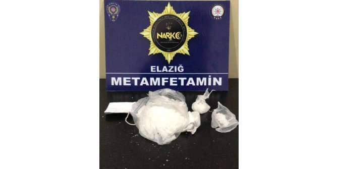 Elazığ'da uyuşturucuyu atıp kaçmaya çalışan şüpheli tutuklandı