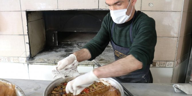 Tava yemekleri Ramazan'da da ilgi görüyor