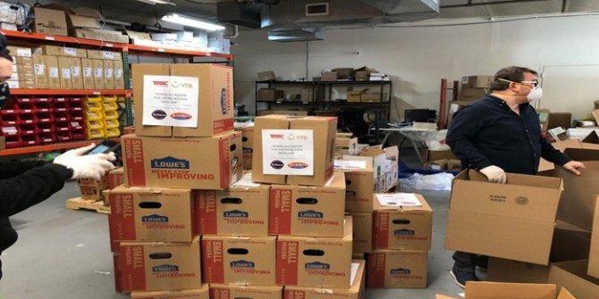Covid-19'dan etkilenen ABD'de ihtiyaç sahiplerine yardım