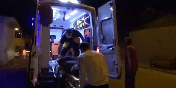 Otomobil sulama kanalına devrildi: 2 yaralı
