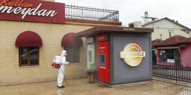 Başiskele'de korona virüs önlemleri aksatılmıyor