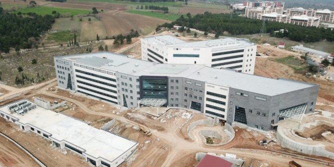 Bilecik'in yeni Devlet Hastanesi inşaatının yüzde 95'lik bölümü tamamlandı
