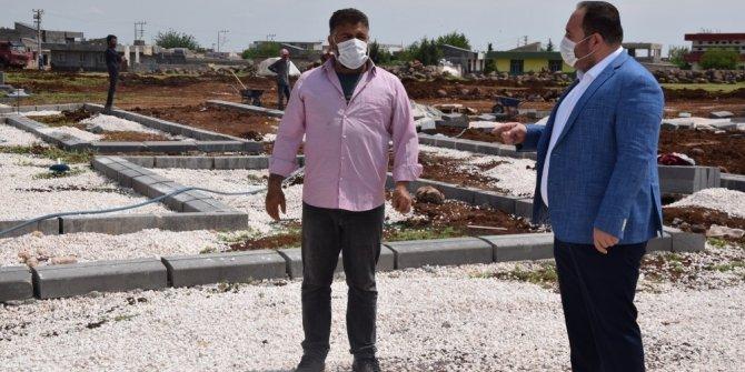 Viranşehir'de çok amaçlı park çalışmalarına başlandı