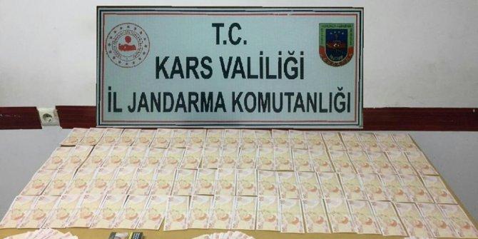 Kars'ta 360 adet sahte 50 lira ele geçirildi