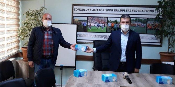 103 kulübe 5 bin adet maske dağıtımı başladı